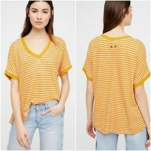 NWT WE THE FREE PEOPLE Linen Blend TAKE ME Shirt